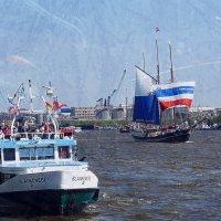 Гамбург. День рождения порта (827 лет) :: Nina Yudicheva