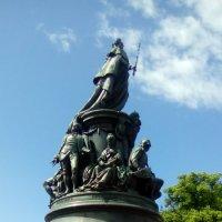 Памятник императрице Екатерине 2 в Санкт-Петербурге. :: Светлана Калмыкова