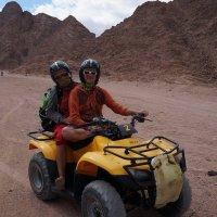 Путешествие на квадроцикле :: Виктор Шандыбин