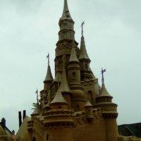 Замок из песка у Петропавловской крепости. (Санкт-Петербург).Название :: Светлана Калмыкова