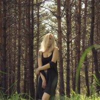 Лес и красивая модель Алина) :: Артем