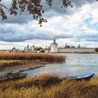 Сиверское озеро и Кирилло- Белозерский монастырь :: Дмитрий Бачтуб
