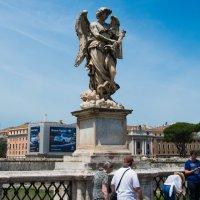 Ангел на мосту Св. Ангела :: David Rinenberg