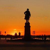 Закат на Волге ....!!! :: Серёжа Стрельников