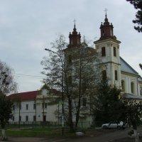 Бывший  польский  костёл  в  Богородчанах :: Андрей  Васильевич Коляскин