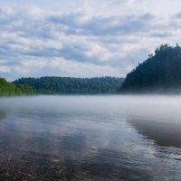 Туман над рекой Томь :: Игорь