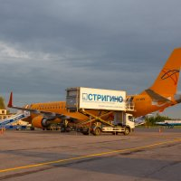 Embraer 190 Saratov Airlines в Стригино :: Роман Царев