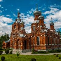 Церковь Воздвижения Животворящего Креста Господня (1686) в Дарне :: Alexander Petrukhin