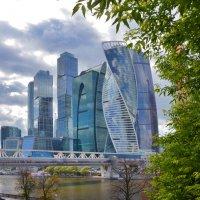 Москва-Сити. :: Oleg4618 Шутченко