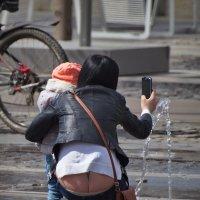Приборы в норме,- полёт нормальный, или посмотри детка какой фонтанчик! :: Юрий Кольцов
