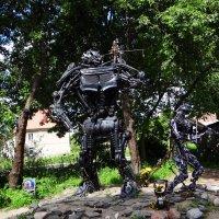 Необычные скульптуры.. :: Антонина Гугаева
