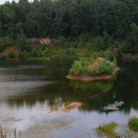 Панорама карьерного озера :: Владимир
