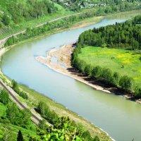 """""""Вот поворот какой делается с рекой..."""" :: Galaelina"""