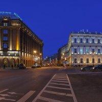 На Исаакиевской Площади СПб :: Александр Кислицын