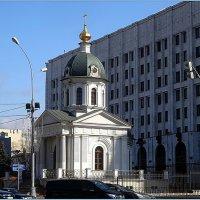 Церковь Бориса и Глеба на Арбатской площади :: Вера