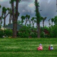 Раздолье в парке ...перед дождем. :: Лара ***