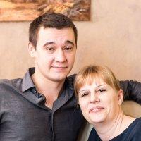 Мама и сын :: Дмитрий Максимовский