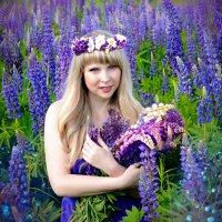 Фиолетовые мечты :: Мария Степунина