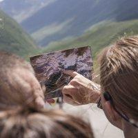 Схождение ледника Малка :: Анна Брацукова