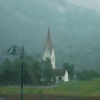 Дождь в Альпах. :: Vladimir