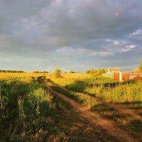 О тихом вечере задумалась дорога...... :: Павлова Татьяна Павлова