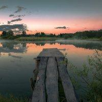 Вечерний пруд :: Артем Тимофеев