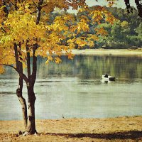 Осень на тихой реке :: Николай Белавин
