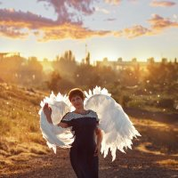 Мой ангел-хранитель :: Наталия Карлинская