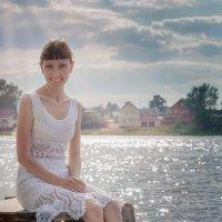 Вечер у реки. :: Lidiya Gaskarova