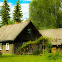 домик в деревне :: Anrijs Slišāns