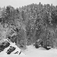 Заснеженные скалы :: Андрий Майковский