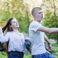 Love story Первая любовь :: Наталья Сидорович
