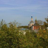 Андреевский монастырь. (Воробьёвы горы. Москва) :: Сергей Фомичев