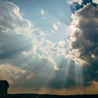 15.06.2016 Агинское, небо и солнечные лучи. :: Даба Дабаев