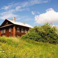 Дом на пригорке... :: Николай Дони