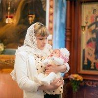 Крещение Евдокии :: Mari Shurins