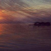 Закат на Озере Маракайбо :: Дмитрий Иванов