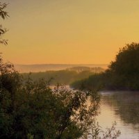 Утро туманное. :: Мила Бовкун