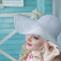 Девушка в шляпе :: Светлана Курцева