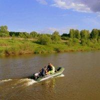 По реке , по реченьке. :: Мила Бовкун