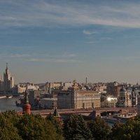 Вид на Москву с колокольни Ивана Великого :: Надежда Лаптева