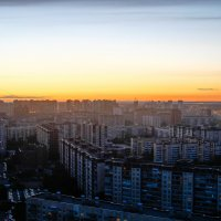 Закат в Приморском районе :: Оксана Смолкина