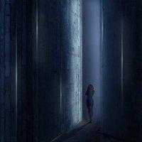 Мистическая картина: девушка в тоннеле :: Наталья (ShadeNataly) Мельник