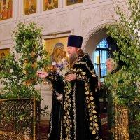 Троица Святая, слава Тебе! Всенощное бдение. :: Геннадий Александрович