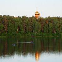 Отражение куполов :: Владимир Звягин