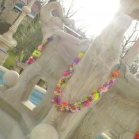 """ Старый Парк"" фонтан.  Январь 2014 :: Alexey YakovLev"