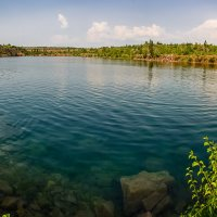 Чистое озеро :: Юрий Шапошник
