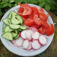 Овощная нарезка :: BoxerMak Mak