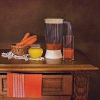 Морковный сок с медом :: Надежда