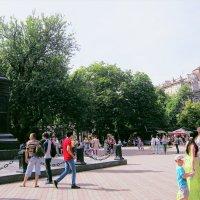Соборная площадь, граф М.С. Воронцов :: Людмила